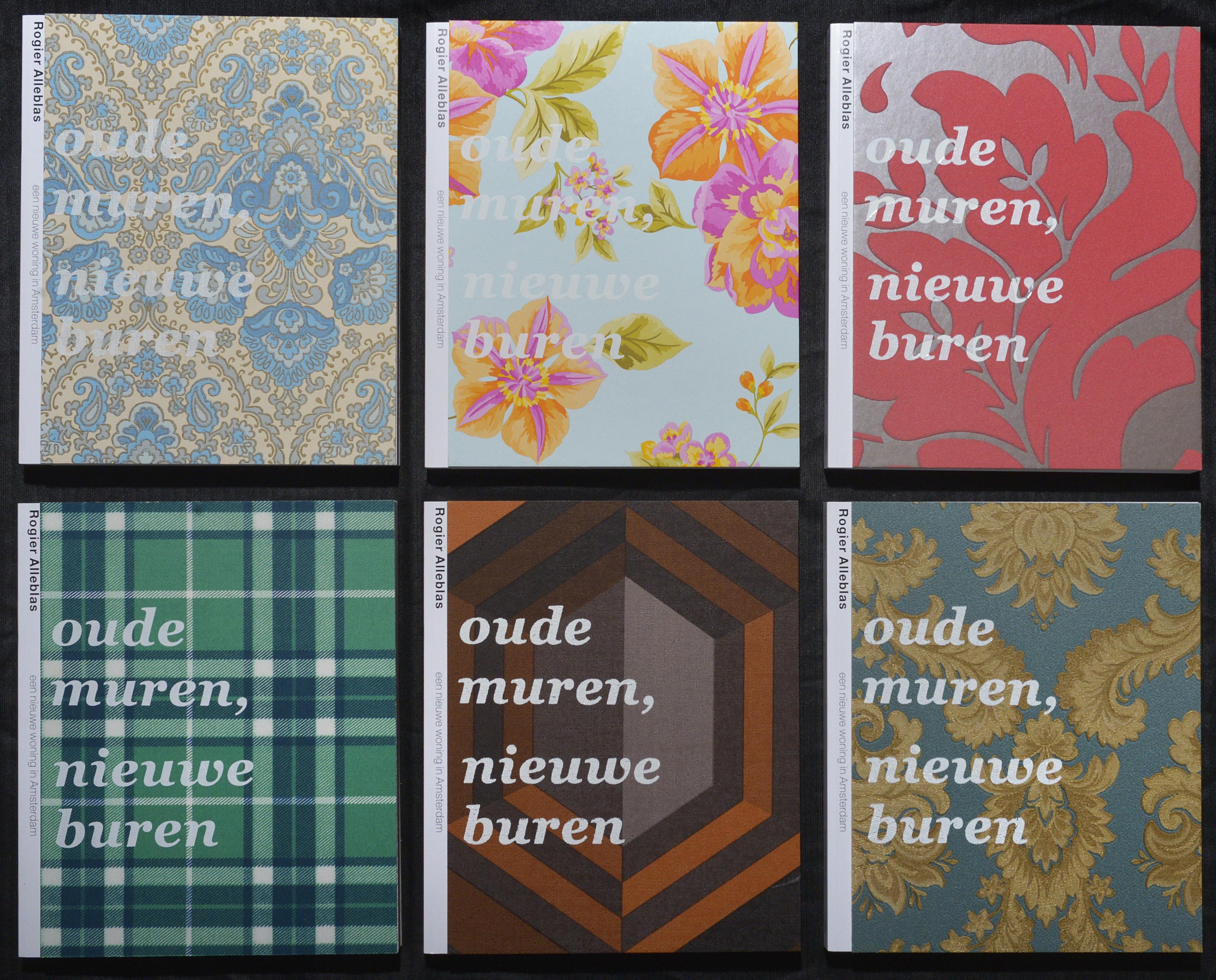 2013 Oude muren, nieuwe buren, uitgeverij de Jonge Hond