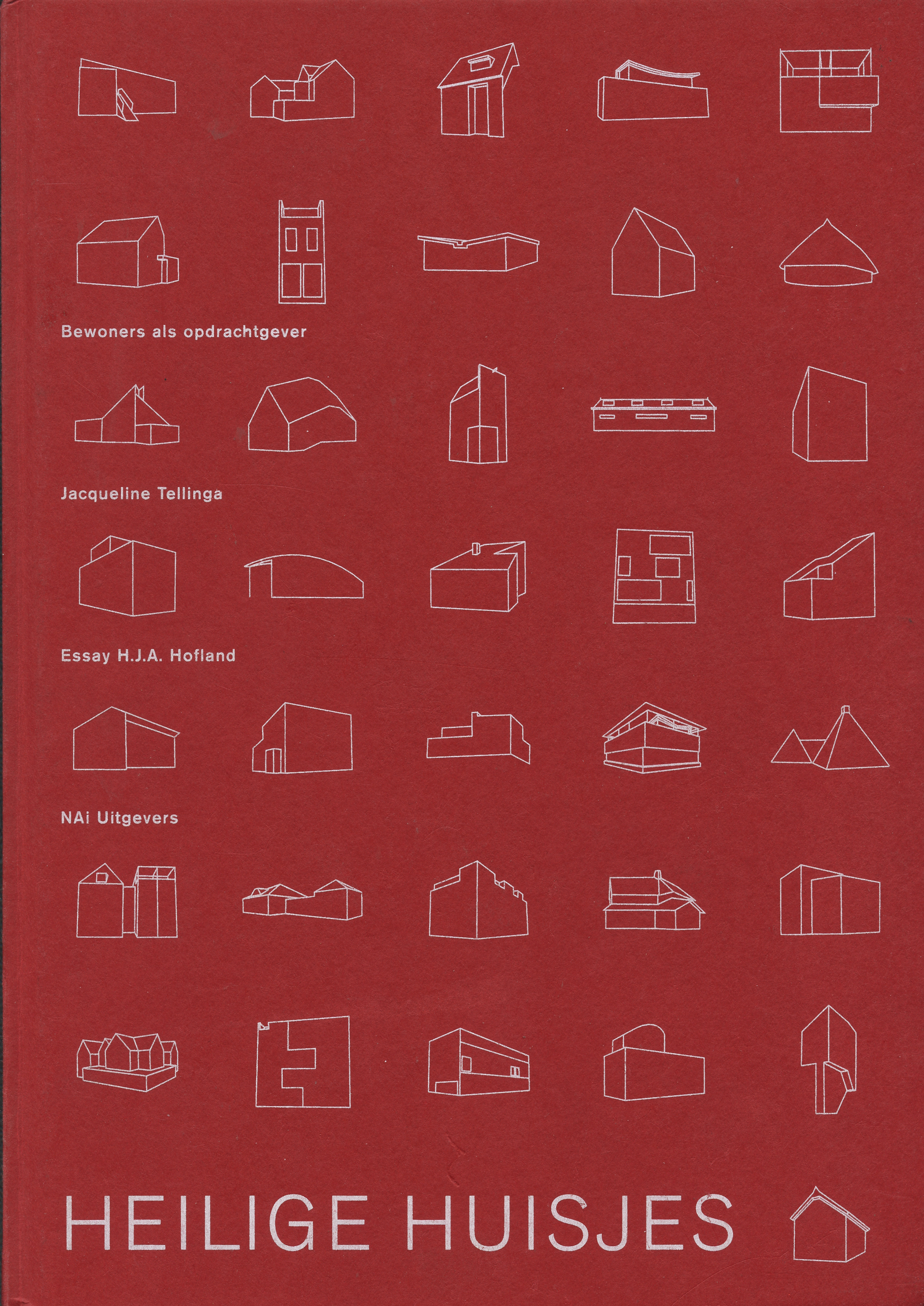 2001 Heilige huisjes, Uitgever NAi Nederlands architectuur instituut