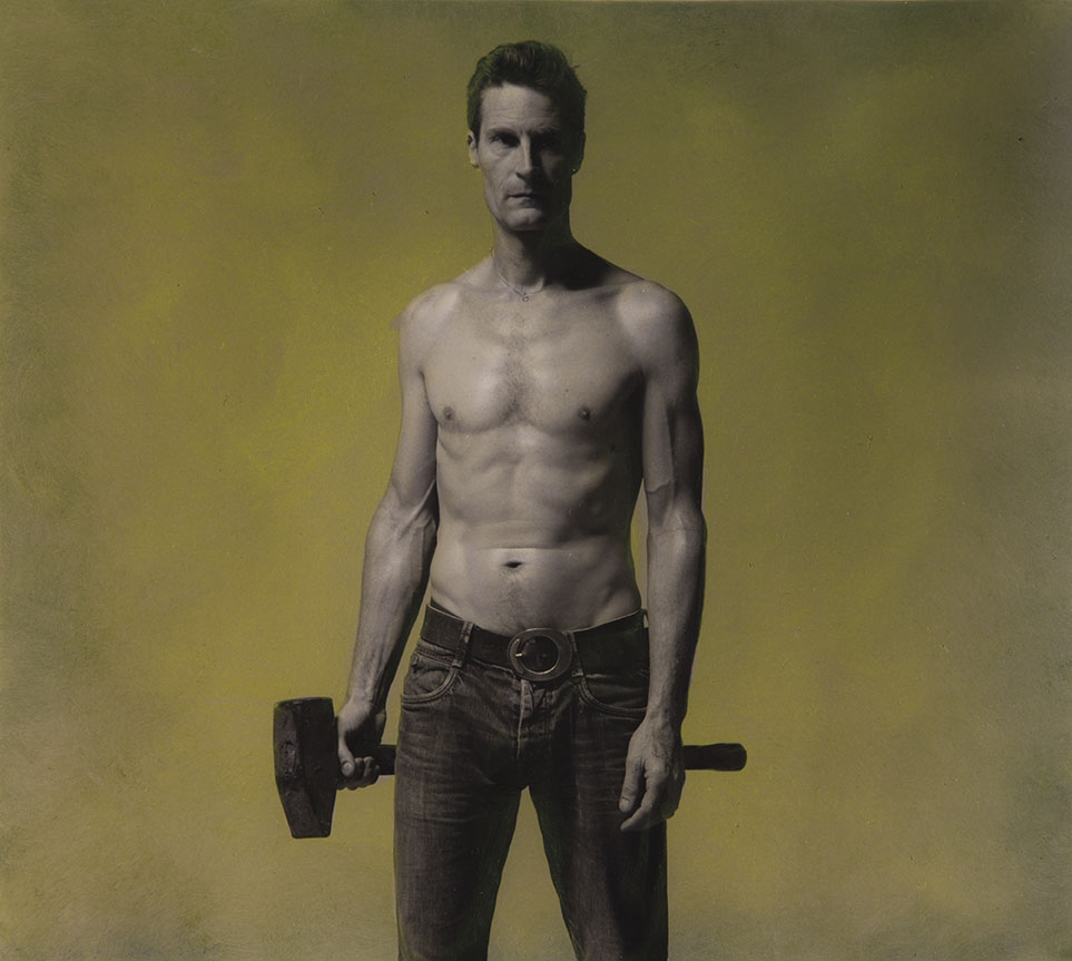 Man met hamer (3)